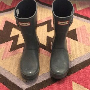 Gray Hunter Boots (Short)
